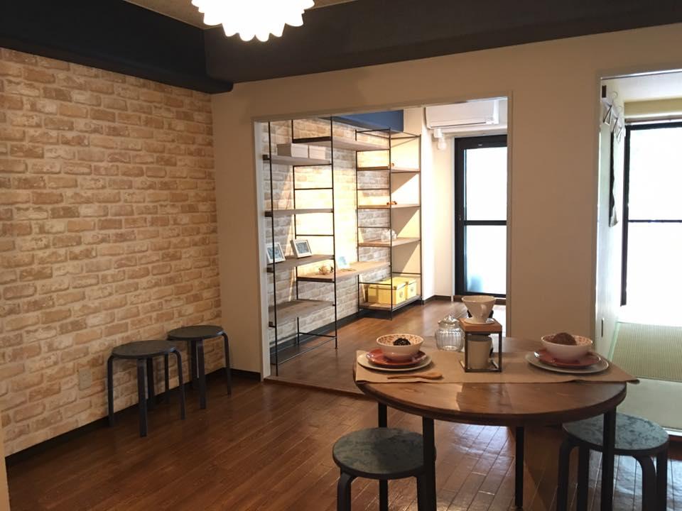 【なんと内見率100%で決まった】普通の2DKから『DIY家具があるお家カフェ』まで全公開です!