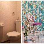 【DIYリフォーム課題】入居者さんと一緒にトイレのリフォーム