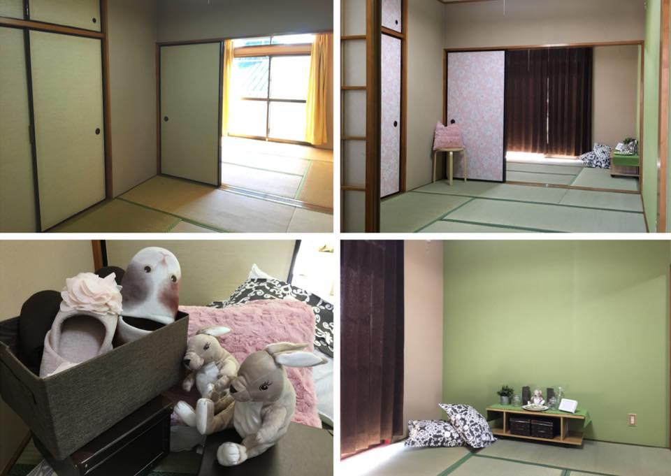 【女性向けの2DK】『畳の和室だってかわいい素敵な雰囲気に変わってくるんですよ!』