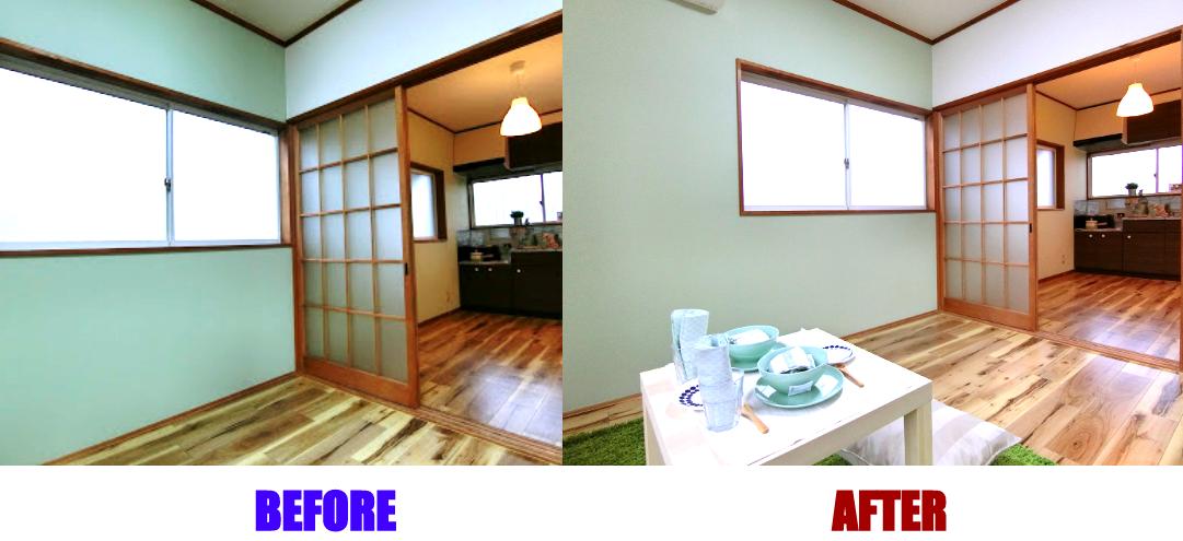 【満室御礼☆空室を埋める方法】入居者募集写真を改善したら即申込み<西那須野2DK家賃3.5万円>