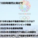 2020年オリンピック開催の好景気で不動産事情は●●である!